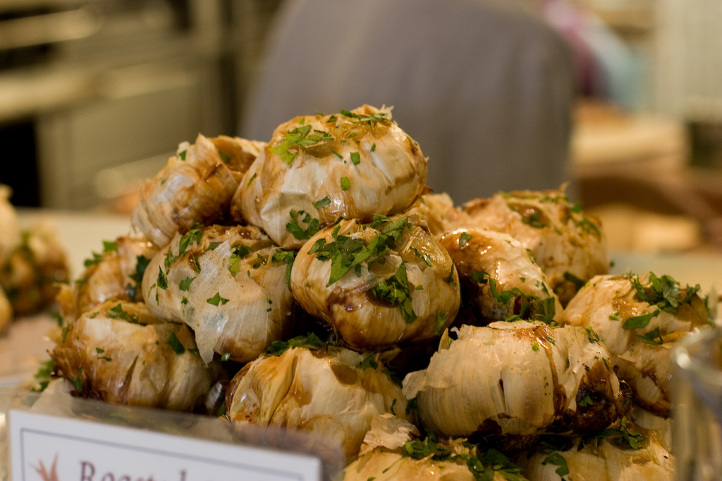 Roasted garlic on sale